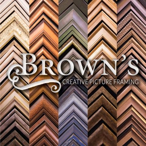 Brown\'s Creative Picture Framing – Wenonah Creates, LLC