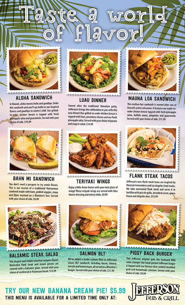 Jefferson LTO Menu Spring